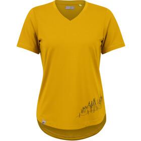 PEARL iZUMi Midland Tee Women, żółty